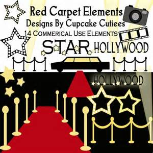 Hollywood Red Carpet Clip Art