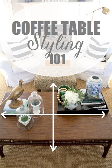 Use these simple round coffee table styling ideas to add a cozy touch to your home. Styling Our Coffee Table - Emily A. Clark