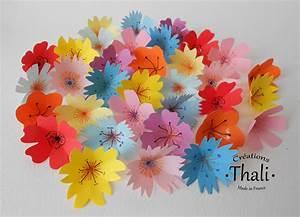 Fleur De Papier : faire des fleurs en papier thalicreations ~ Farleysfitness.com Idées de Décoration
