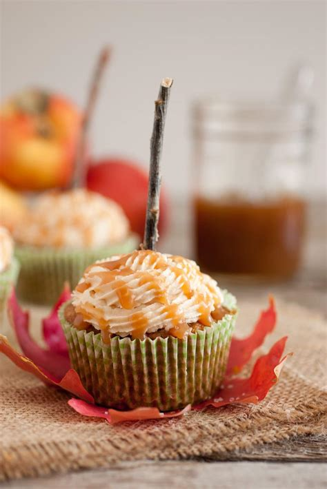 cuisine cupcake salted caramel apple cupcakes cooking