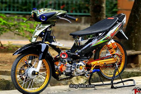 Modif Jupiter Z by Modifikasi Motor Jupiter Z Racing Look Jupiter T Drag Bike