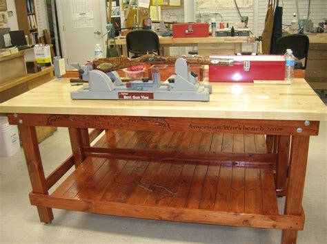 butcherblock workbench garage work bench workbench