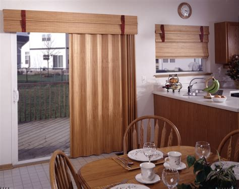 kitchen patio door curtains ideas railing stairs and
