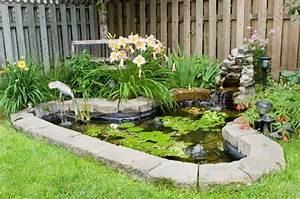 Kleiner Teich Im Garten : wie wirkt ein sch ner garten hier sind 50 beispiele ~ Sanjose-hotels-ca.com Haus und Dekorationen