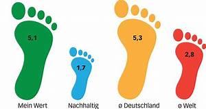ökologischer Fußabdruck Deutschland : info mein fu abdruck im vergleich ~ Lizthompson.info Haus und Dekorationen