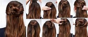 Peinados Sencillos Para Cabello Largo Recogido Paso A Paso