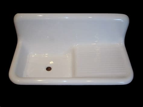 Reproduction Drainboard Sinks   23 S 6th Kitchen