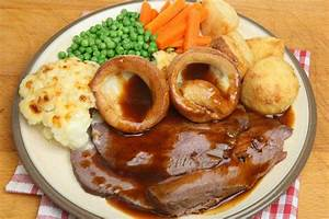 Image Gallery English Dinner