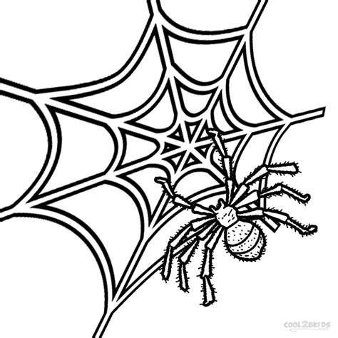 spider coloring pages printable spider web coloring pages for cool2bkids
