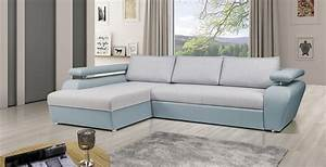 Canap gris bleu amazing canap places en tissu grisbleu n for Tapis shaggy avec canapé banquette scandinave joseph gris pieds bois