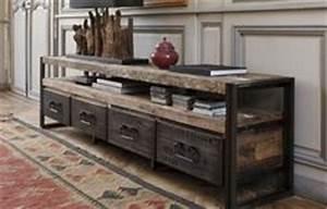 console dentree avec anciens tiroirs industriels With console avec tiroir meuble entree 16 meuble dentree meubles bouchiquet