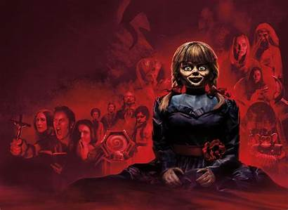 Annabelle Comes Wallpapers Doll Horror Bambola 1080p