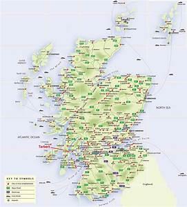 Atlas Mapas da Escócia