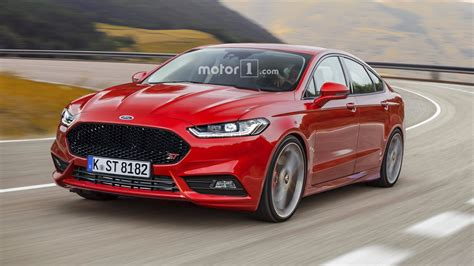 Ford Mondeo St Render Needs To Happen In Real Life
