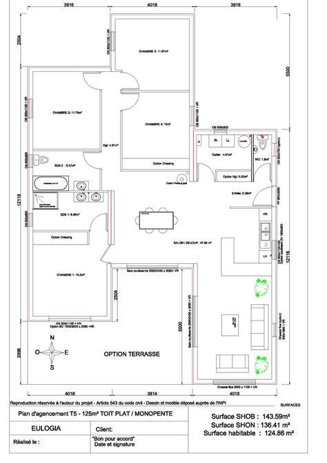 maison plain pied 5 chambres cuisine plan maison plein pied plan maison plain pied