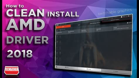 install update  amd graphics driver