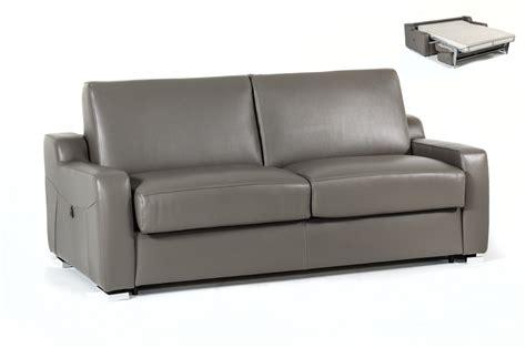 modern grey leather sofa estro salotti dalia modern grey leather sofa bed