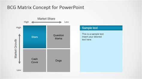 bcg matrix template bcg matrix concept for powerpoint slidemodel
