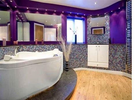 impressive bathroom designs  purple interior design