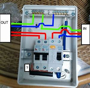 Wiring A Garage Consumer Unit