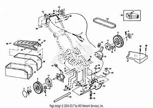 Poulan Pp850pea Mower Parts Diagram For Drive Assembly
