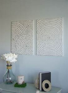 Large wall art ideas pinterest : Diy canvas wall art a low cost way to add your home