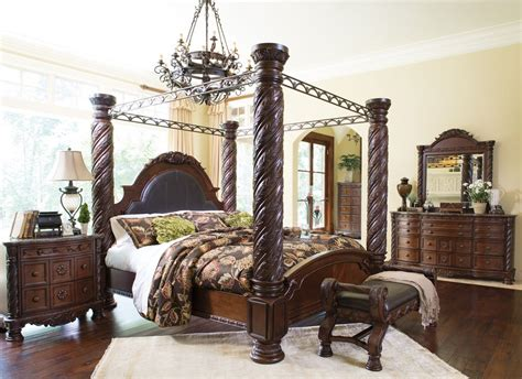 Furniture Canopy Bedroom Sets by Shore Canopy Bedroom Set Millennium 6 Reviews