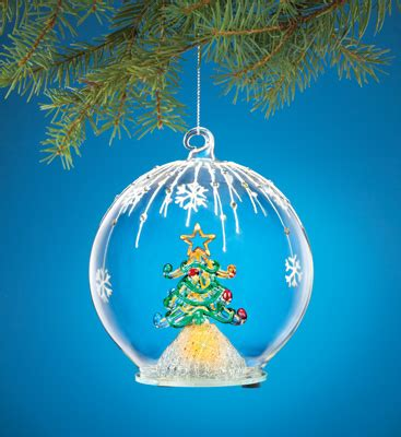 chagne christmas ornaments color changing tree ornament from collections etc