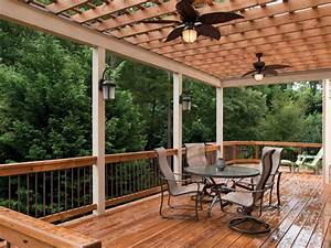Lively functional and decorative outdoor deck lighting
