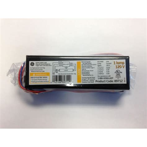 4 L T12 Ballast Home Depot by Ambistar 120 Volt 3 To 4 L T8 Instant Start Electronic