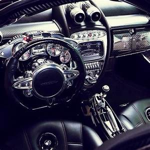 Pagani huayra interior | WHEEL You Be Mine? | Pinterest ...