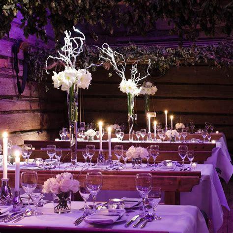 center pieces for winter weddings winter wonderland