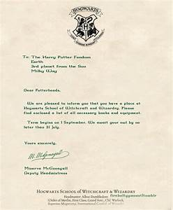 hogwarts acceptance letter harry potter pinterest With harry potter hogwarts acceptance letter pdf