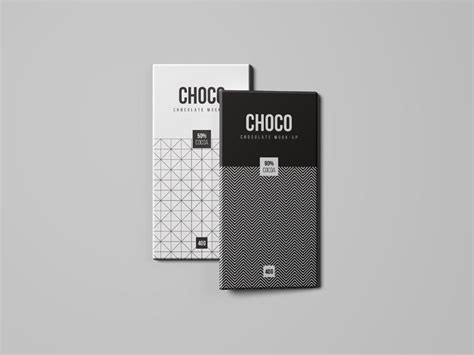 All free mockups include smart objects for easy edit. Free Clean and Realistic Chocolate Packaging Mockup ...