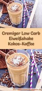 Gesunde Smoothies Zum Abnehmen : kokos kaffee eiwei shake low carb eiwei di t rezept rezepte pinterest ~ Frokenaadalensverden.com Haus und Dekorationen