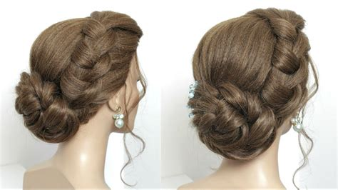 juda hairstyle  party simple twisted hair bun