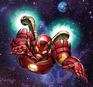 Iron Man Space Armor Mk. III Comics - Comic Vine