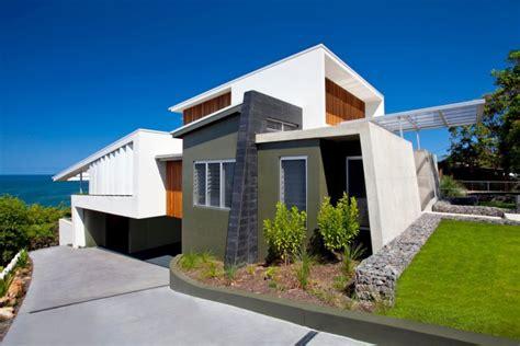 exterior house decor bold exterior house with minimalist interiors