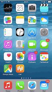 Iphone hd home screen clipart