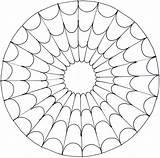 Mandalas Printable Coloring sketch template