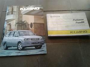 Jual Manual Book Dan Brosur Original Toyota
