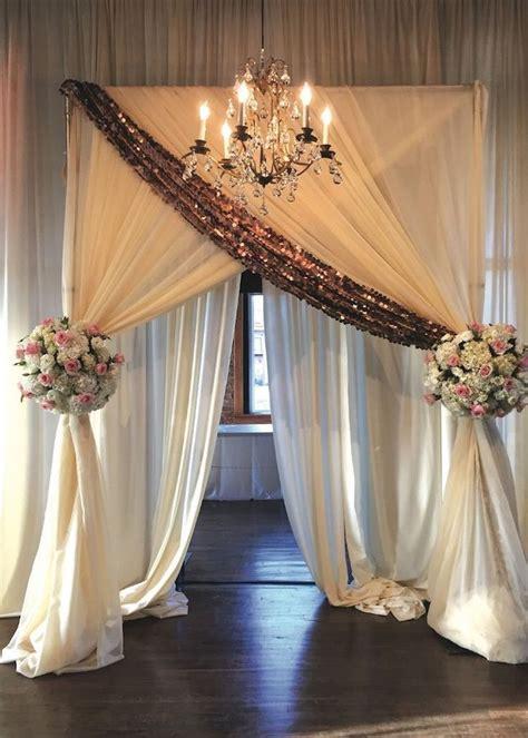 beautiful wedding reception entrance wedding altars