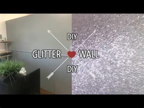 diy glitter wall iamnettamonroe youtube
