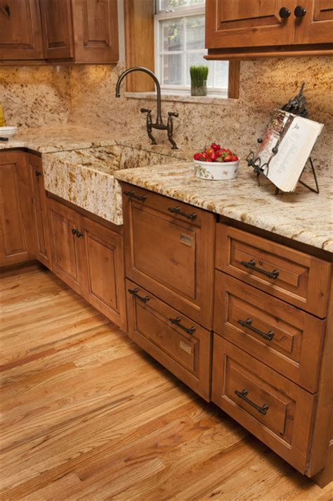 granite apron front sink traditional kitchen other