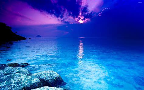 Deep Sea Hd Wallpaper Blue Sea Wallpaper Beach Wallpapers 22407
