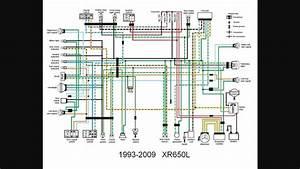 Redrawn Xr650l Wiring Diagram  L