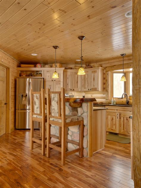 hickory kitchen cabinets ideas pictures remodel  decor
