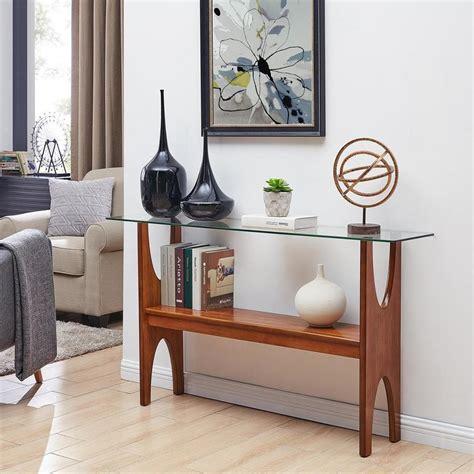 Narrow Sofa Table by Boston Loft Furnishings Struit Narrow Sofa Table At Lowes