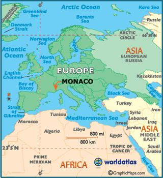 monaco facts  largest cities populations symbols