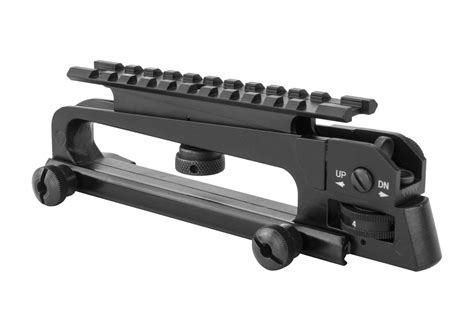 ar rail carry handle mount sight a2 rear picatinny tactical optics monstrum accessories optic